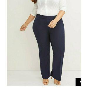 Torrid Womens Dress Pants Blue High Waist 16 R New